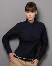 KK361 Kustom Kit Ladies' Workwear Long Sleeve Oxford Shirt